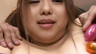 Kinky oriental babe in slavery sucks and rides big cock
