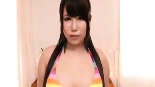 Busty asian great blowjob