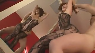 Hottest Japanese girl Katsuki Asou in Crazy Hairy, Doggy Style JAV scene