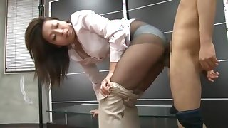 Incredible Japanese chick Miwako Yamamoto in Crazy Fetish, Doggy Style JAV clip