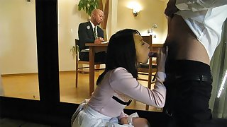 Yui Asao in Yui Asao does everything to make her horny husband happy - AviDolz
