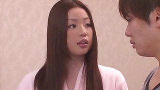 Horny Japanese girl Risa Kasumi in Incredible Rimming JAV movie