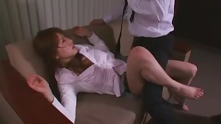 Amazing Japanese whore Akiho Yoshizawa in Hottest Small Tits, Hairy JAV clip