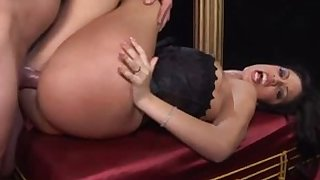 Fabulous pornstars Leah Luv, Rebecca Linares and Ice La Fox in exotic cumshots, facial xxx movie