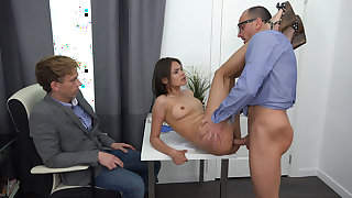 Yan & Jeff & Jade in Fucked By The Husband&S Boss - SellYourGF