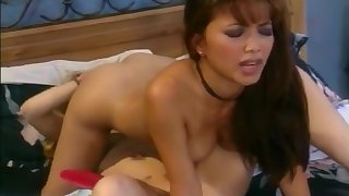 Brunette And Blonde In Ass To Mouth Fuck