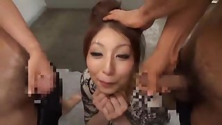 Horny Japanese whore Hina Akiyoshi in Amazing Facial, Blowjob JAV clip