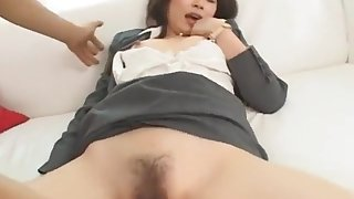 Crazy Japanese girl Saki Aimi in Incredible Small Tits, Secretary JAV clip