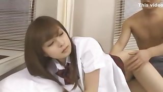 Best Japanese girl Hirono Imai in Amazing Cunnilingus, College JAV scene