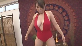 Fabulous Japanese chick Reiko Nakamori in Crazy Changing Room, Public JAV clip