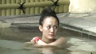 Japanese onsen hot spring hidden cam 6