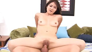 Kurt fuck slender Asian model Tayla in her pussy