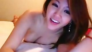 asian web camera show with anal play and squirt