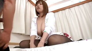 Horny Japanese whore Nao Nazuki in Crazy Masturbation, Wife JAV scene