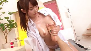 Hot POV with a young Asian slut