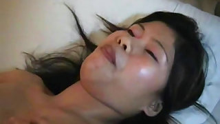Sexy asian gives stunning solo