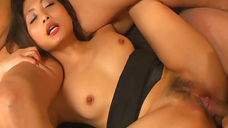 Naughty asian slut enjoys hardcore