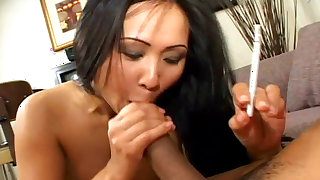 Naughty mature enjoys hard cock