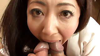 Ayano Murasaki is having sex with two horny guys