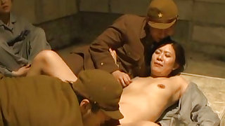 Tantalizing japanese  is having amazing gangbang